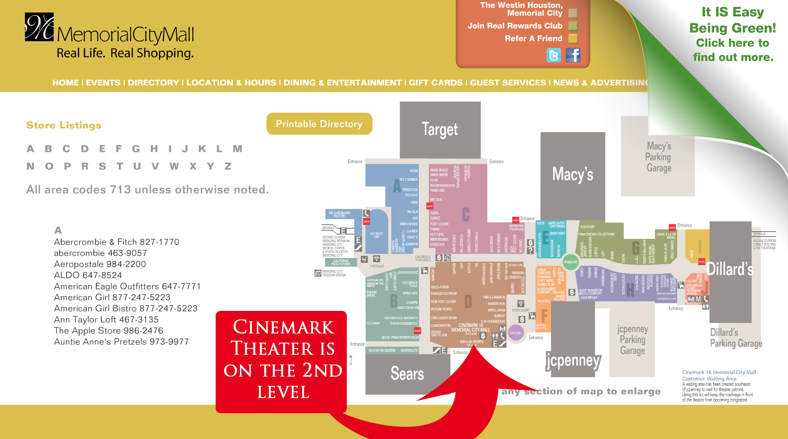 Memorial City Mall Map MHHA Dysautonomia Teens Socials – Reminder – Hope to see you there  Memorial City Mall Map