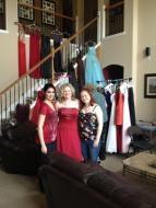 The dress shopping day for last year's Anti-Prom