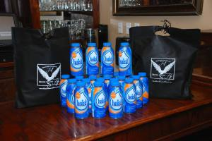 Swag Bags!  Sponsored by The Abbott Family, The Allen Family and The Toman Family