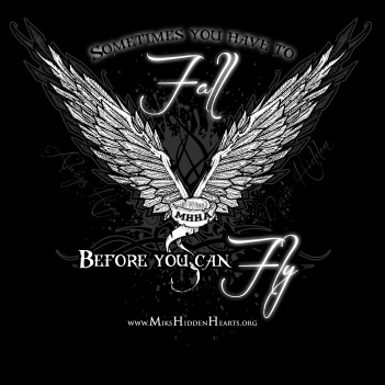 Sometimes you have to fall... before you can fly