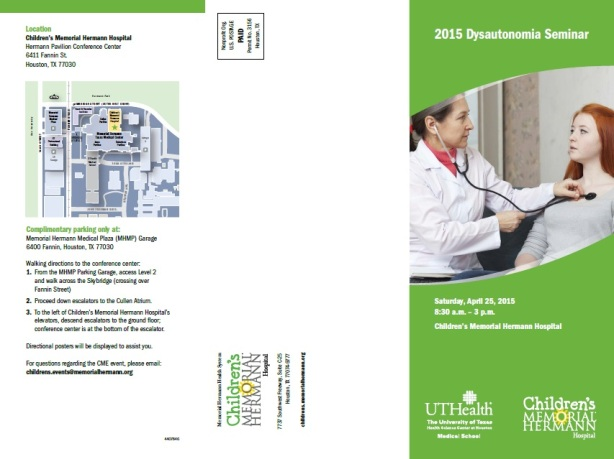 Dysautonomia Conference pg 2