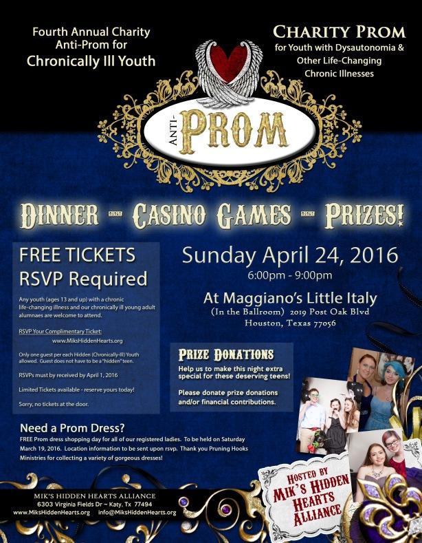 MHHA Prom Flyer 2016